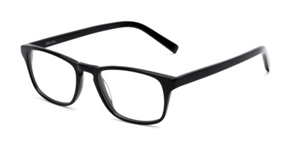 Angle of Grove by felix + iris in Black, Women's and Men's Rectangle Reading Glasses