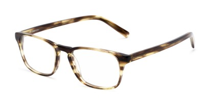 Angle of Grove by felix + iris in Olive Tortoise, Women's and Men's Rectangle Reading Glasses