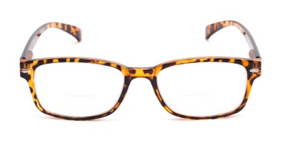 Front of The Hardy Bifocal in Brown Tortoise