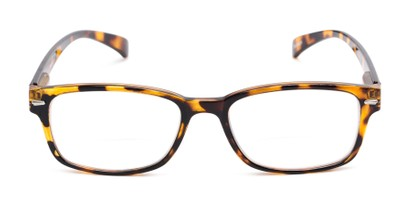 Front of The Hardy Bifocal in Tan Tortoise
