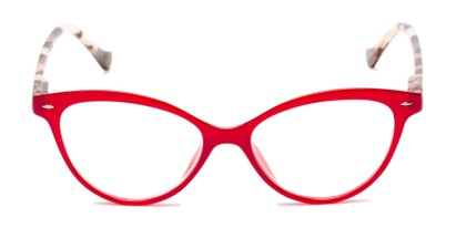 Front of The Harlow in Red/Tortoise