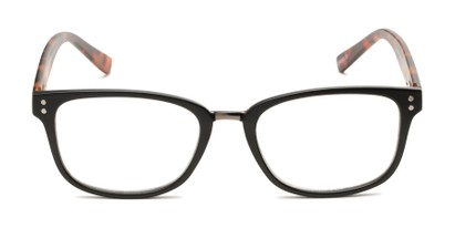 Front of The Harvey - Foster Grant for Readers.com in Black/Brown Tortoise