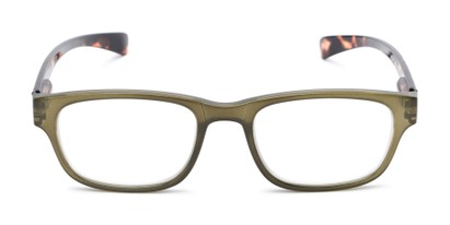 Front of The Heart in Olive/Tortoise