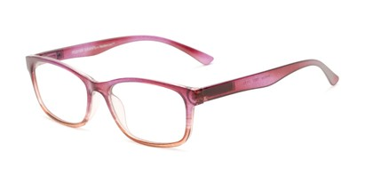 Angle of The Heather - Foster Grant for Readers.com in Purple Fade, Women's Cat Eye Reading Glasses