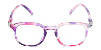 Front of The Helena Bifocal in Purple/Pink