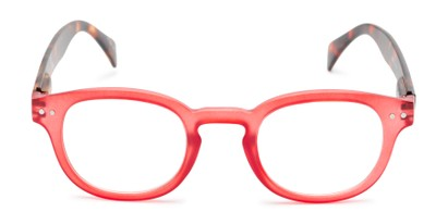 Front of The Hemp in Red/Tortoise