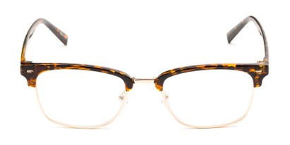 Front of The Henrik in Glossy Tortoise/Gold