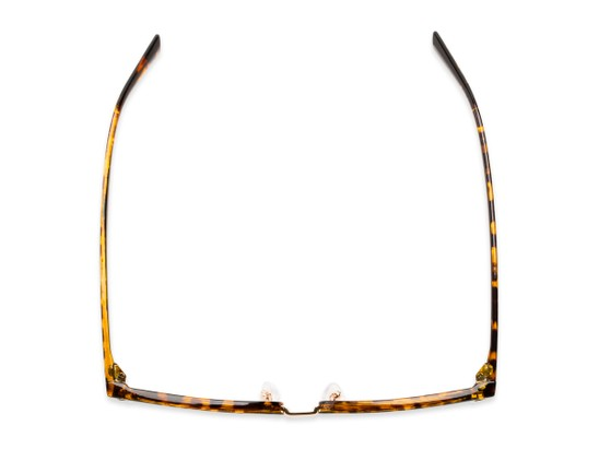 Overhead of The Henrik in Glossy Tortoise/Gold