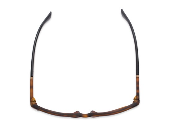 Overhead of The Henry Bifocal Reading Sunglasses in Tortoise/Black with Smoke