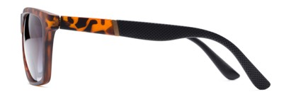 Side of The Henry Bifocal Reading Sunglasses in Tortoise/Black with Smoke