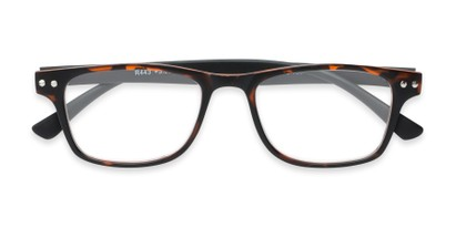 two toned retro frame stylish glasses