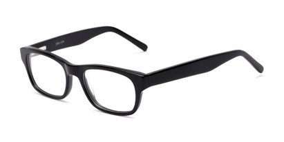 Angle of Holliday by felix + iris in Black, Women's and Men's Retro Square Reading Glasses
