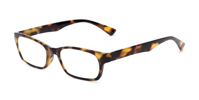 Angle of The Hope in Tortoise, Women's Rectangle Reading Glasses