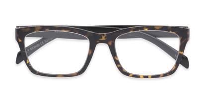 Folded of The Huggins in Tortoise/Black