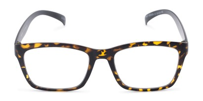 Front of The Huggins in Tortoise/Black