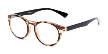 fc87fc3800 Angle of The Ivy League Bifocal in Brown Tortoise Black