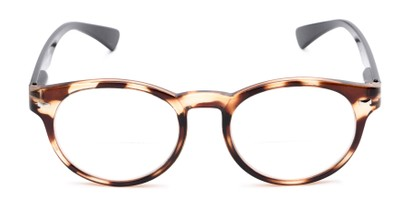 Front of The Ivy League Bifocal in Brown Tortoise/Black