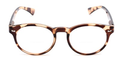 Front of The Ivy League Bifocal in Brown Tortoise