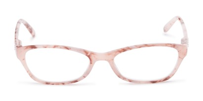 Front of The Janice in Light Pink Marble