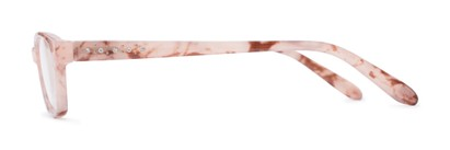 Side of The Janice in Light Pink Marble
