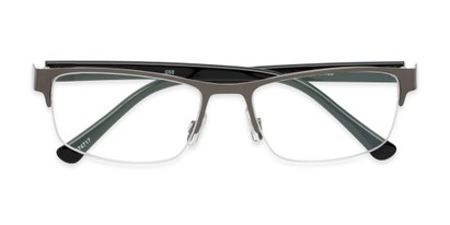 Folded of The Jones Multifocal Reader in Grey/Black