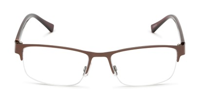 Front of The Jones Multifocal Reader in Brown