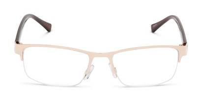 Front of The Jones Multifocal Reader in Gold/Brown