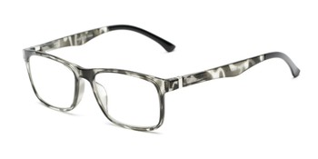 5c8ad6c6d9 Angle of The Lambert Photochromic Reader in Black Tortoise with Smoke