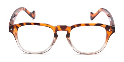 Front of The Landis in Tortoise/Clear