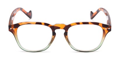 Front of The Landis in Tortoise/Green