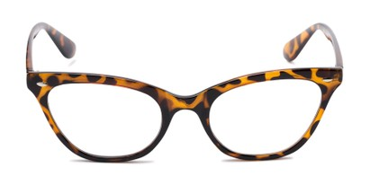Front of The Laura in Brown Tortoise