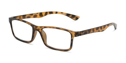 Angle of The Leaf in Yellow Tortoise, Women's and Men's Rectangle Reading Glasses