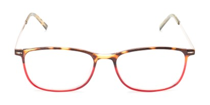 Front of The Leah in Tortoise/Red