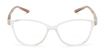 Front of The Lenora Bifocal in Clear/Tortoise