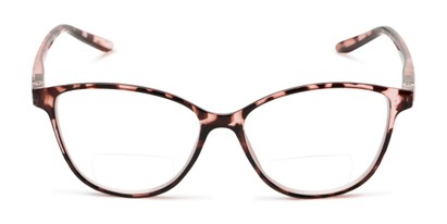 Front of The Lenora Bifocal in Pink Tortoise