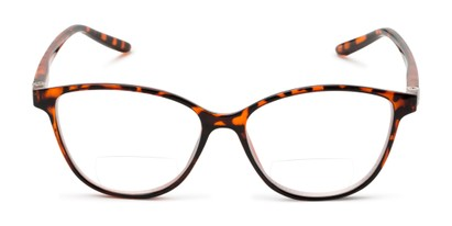 Front of The Lenora Bifocal in Brown Tortoise