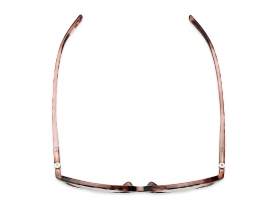 Overhead of The Lenora Bifocal in Pink Tortoise