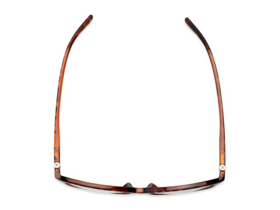 Overhead of The Lenora Bifocal in Brown Tortoise