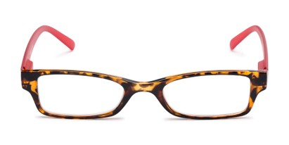 Front of The Lime in Tortoise/Red