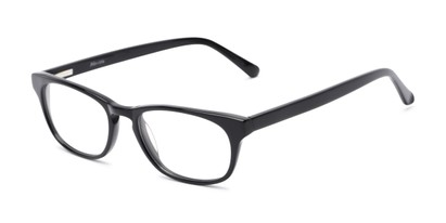 Angle of Lockerbie by felix + iris in Black, Women's and Men's Rectangle Reading Glasses