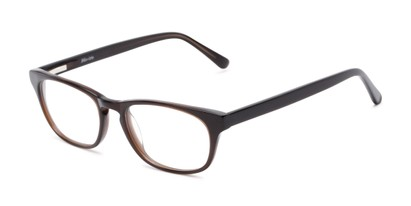 Angle of Lockerbie by felix + iris in Brown, Women's and Men's Rectangle Reading Glasses