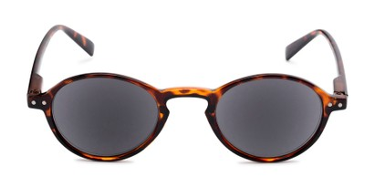 Front of The Loft Reading Sunglasses in Tortoise with Smoke