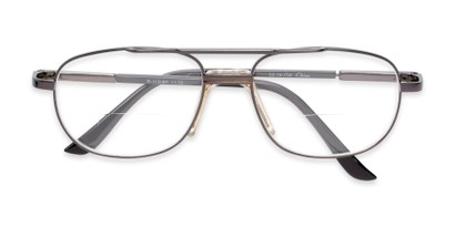 metal frame aviator bifocal