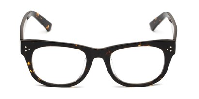 Front of The Ludlow Signature Reader in Brown Tortoise