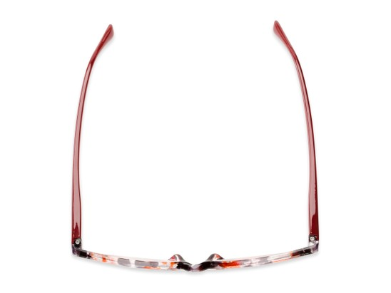 Overhead of The Magda in Red Tortoise/Red