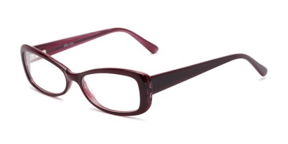 Angle of Magnolia by felix + iris in Pink, Women's Cat Eye Reading Glasses