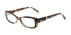 Angle of Magnolia by felix + iris in Tortoise, Women's Cat Eye Reading Glasses