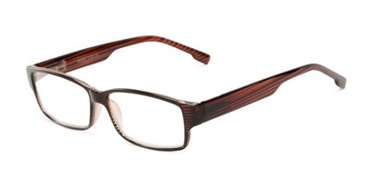 striped plastic reading glasses