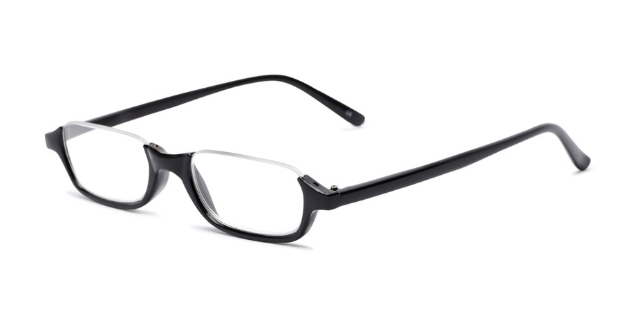c9ede917224 Half-Rimmed Plastic Frame Reading Glasses