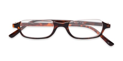 semi-rimless lightweight reader